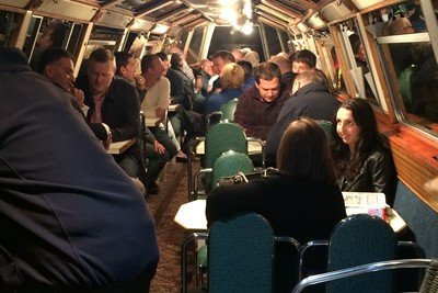 Magic on a barge
