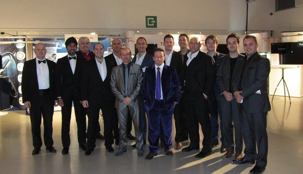 A team of fourteen magicians in Brussels at a corporate event on behalf of Elite Magic
