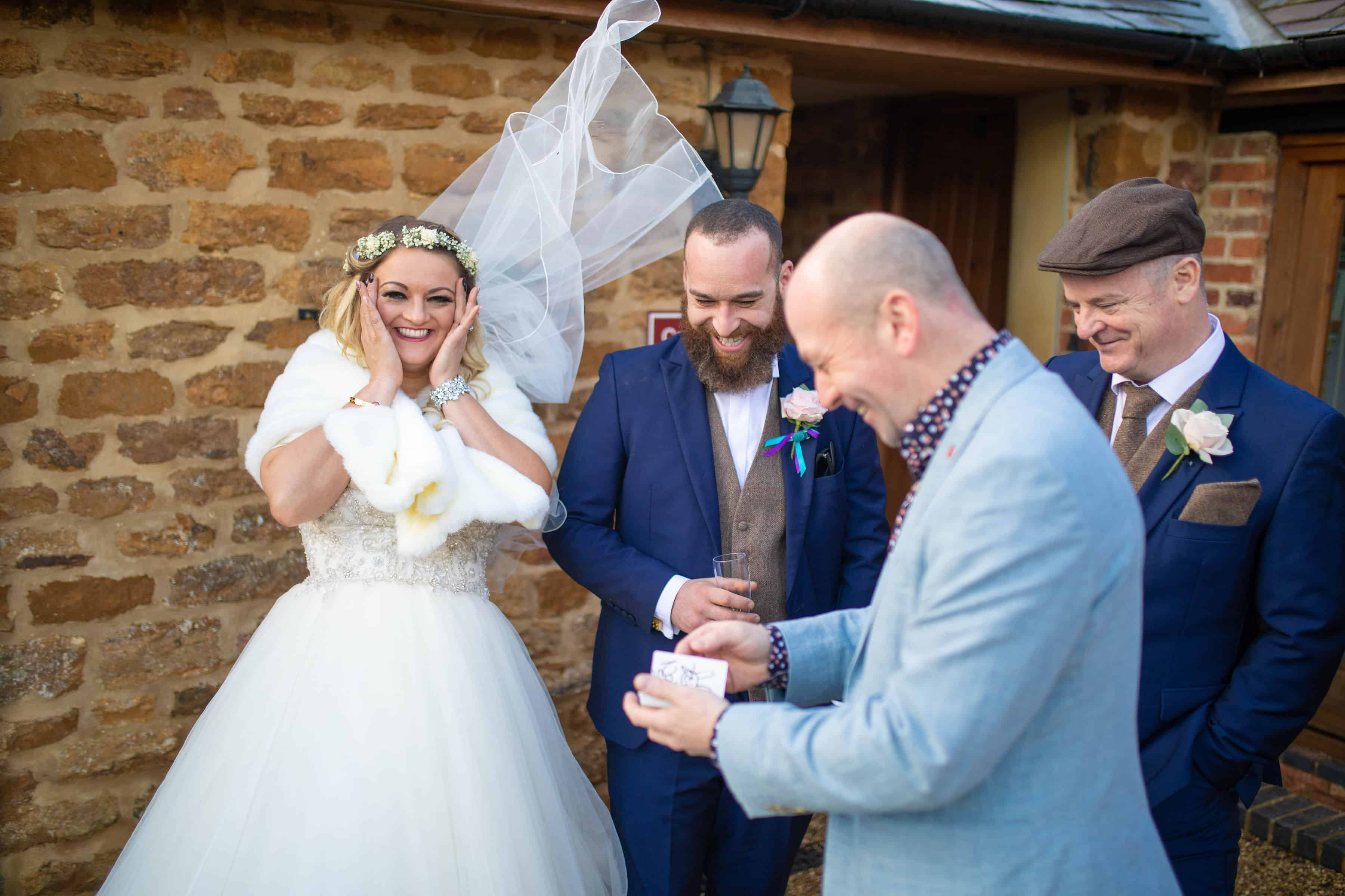 Wedding at The Granary, Flawsley