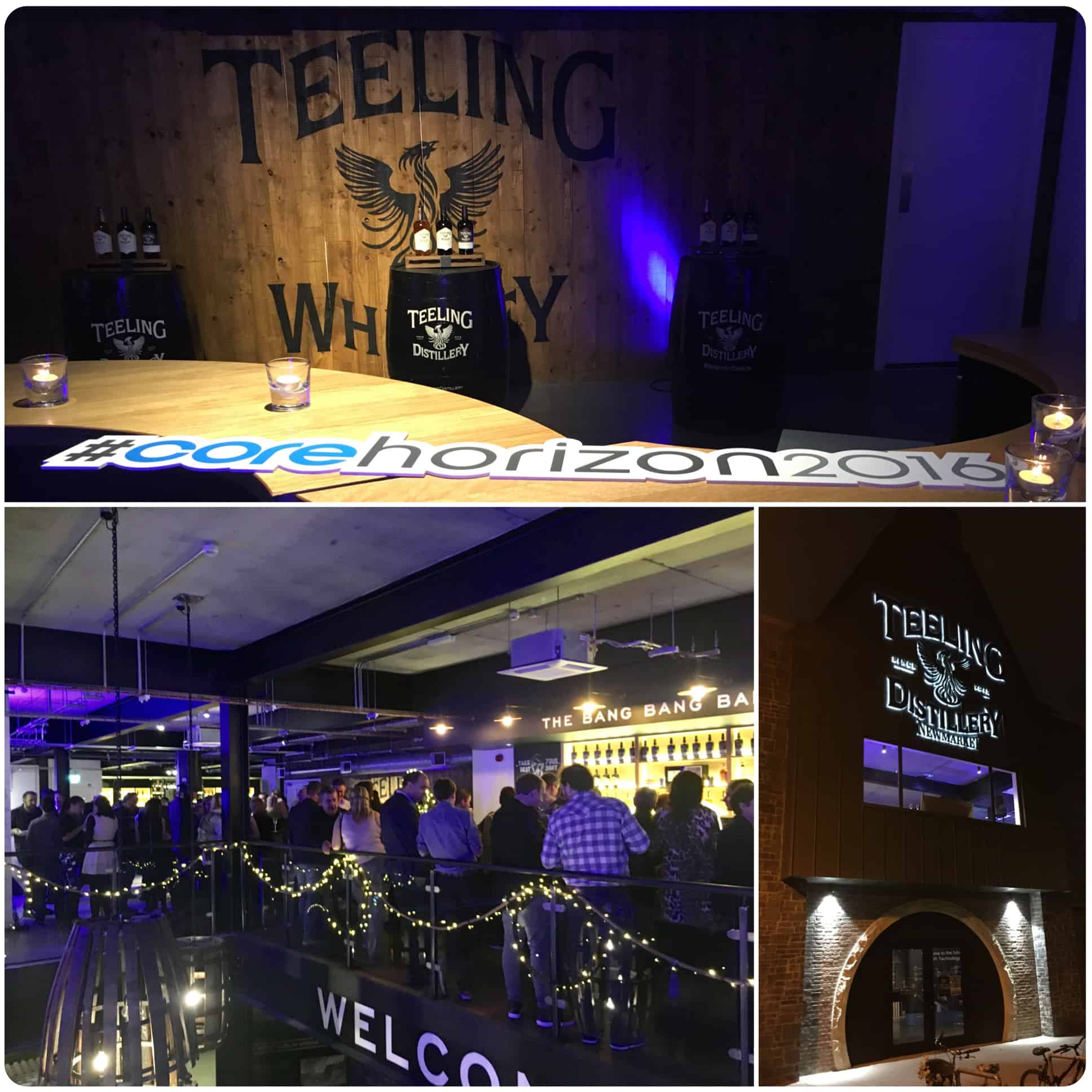 Magician Will Gray working at The Teeling Whiskey Distillery, Dublin